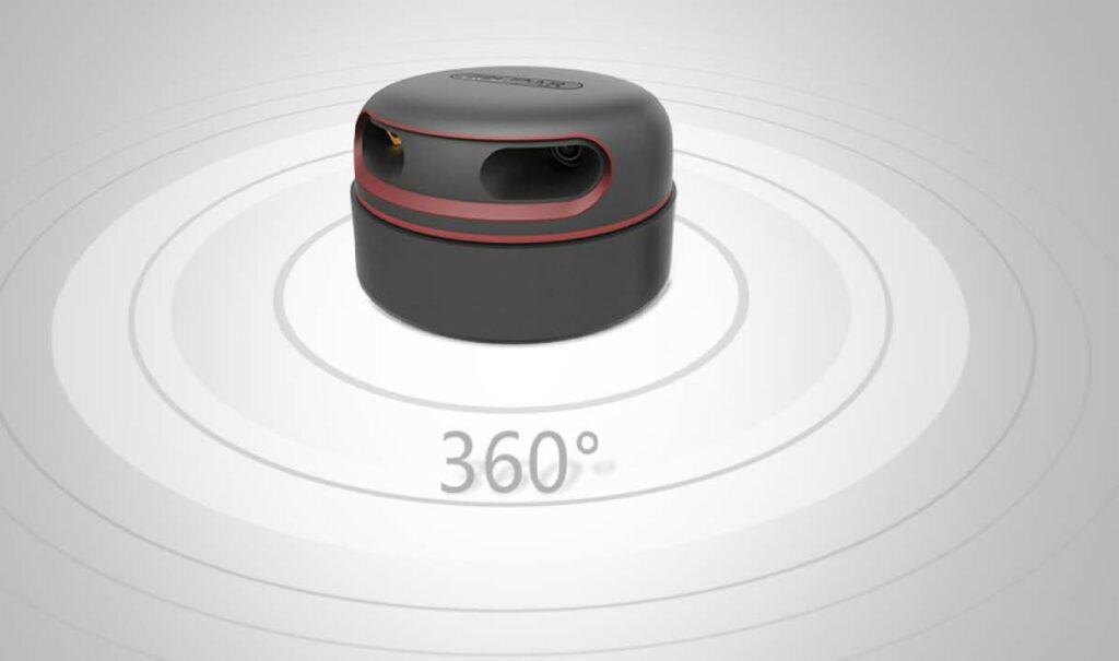 360 Grad Raumluftreiniger Desinfektionsroboter für Luft und Flächen